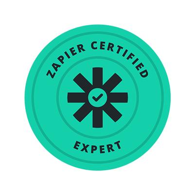 Zapier Certified Expert